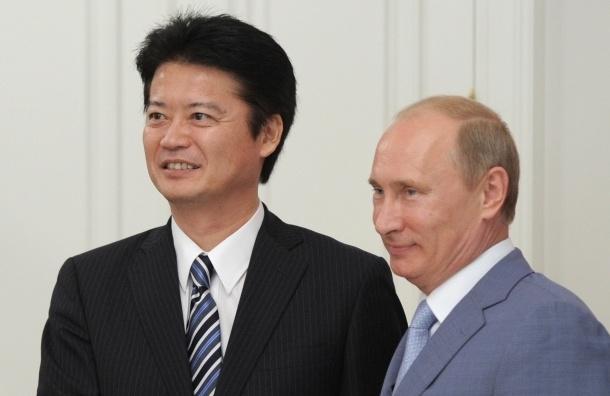 Путин подарит японцам большого сибирского кота