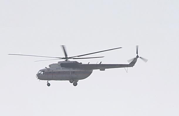 В Томской области упал вертолет: все живы, но есть раненые
