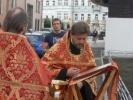 Фоторепортаж: «Игумен Тимофей на спорткаре устроил ДТП в Москве»