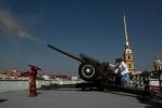 Пушка, Петропавловка, Нарышкин бастион: Фоторепортаж