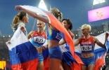 Олимпиада 2012: Легкоатлетки взяли две золотых медали: Фоторепортаж