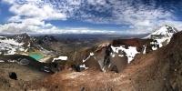 Вулкан Тонгариро: Фоторепортаж