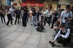 Забег на руках 2011 (2): Фоторепортаж