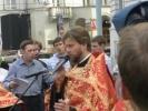 Игумен Тимофей на спорткаре устроил ДТП в Москве: Фоторепортаж