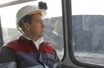 Дмитрий Медведев, шахта Листвяжная - 2: Фоторепортаж
