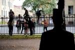 Фоторепортаж: «Шествие зомби сорвала полиция»