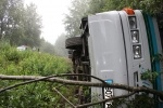 Фоторепортаж: «Автобус ДТП Псковская область»