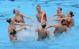 Синхронное плавание, сборная России: Фоторепортаж