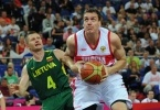 Россия Литва, баскетбол, 8 августа 2012: Фоторепортаж