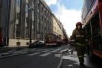 Фоторепортаж: «пожар в Университете технологии и дизайна»