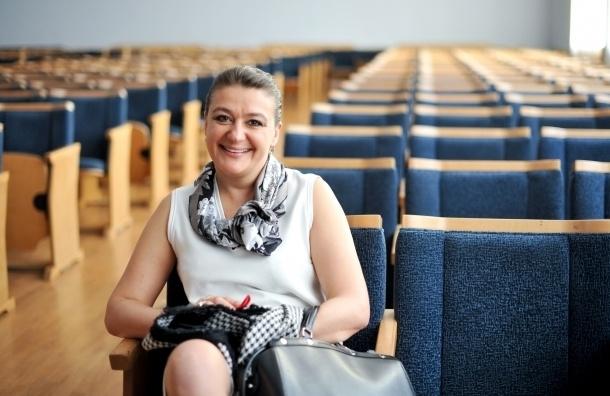 Актриса Анастасия Мельникова может возглавить культуру в Петербурге