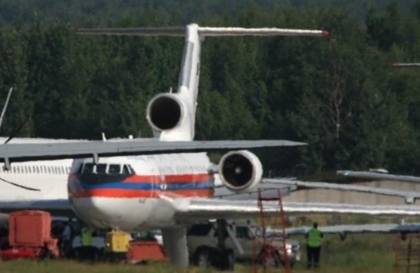 Самолет МЧС доставил в Петербург женщину, которую сразил инсульт в Болгарии