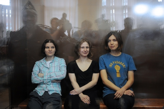 Pussy Riot оглашение приговора: Фото
