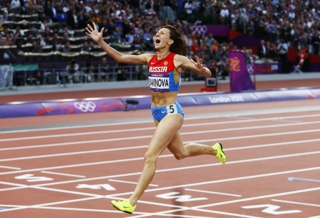 Олимпийская чемпионка Мария Савинова: Фото