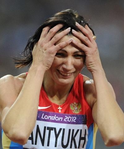 Наталья Антюх - золото Олимпиада 2012: Фото