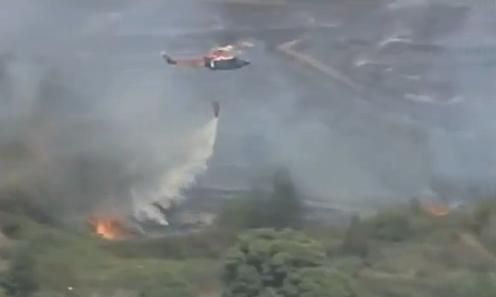 Пожары в Испании: Фото
