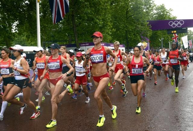 Марафон на Олимпиаде в Лондоне: Фото