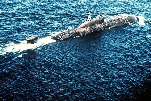 Подводная лодка класса Акула (Щука): Фото