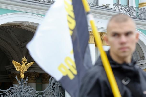 Акция против Мадонны на Дворцовой: Фото