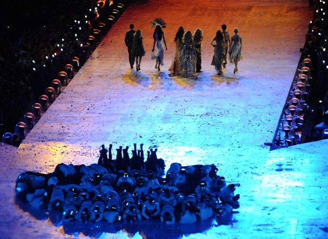 Церемония закрытия ХХХ Летних Олимпийских игр в Лондоне: Фото