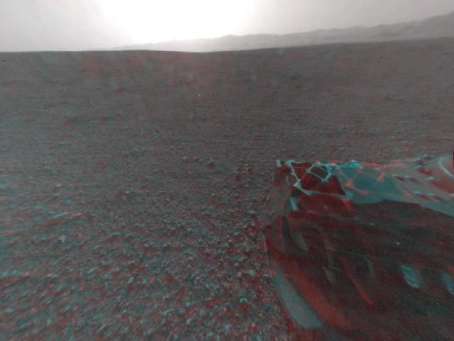 Марсоход Curiosity сделал новые фото: Фото
