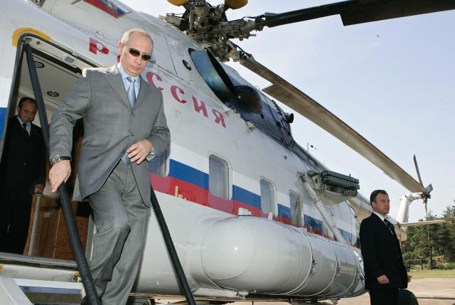 Вертолет Путина: Фото