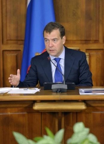 Дмитрий Медведев в Томске, август 2012: Фото