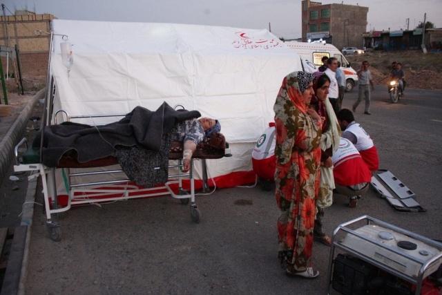 Землетрясение в Иране 2012: Фото