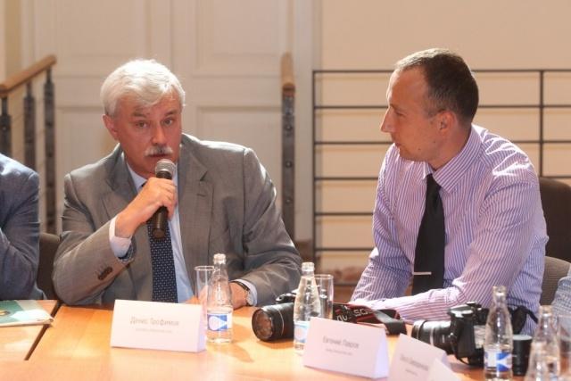 Встреча Георгия Полтавченко с блогерами: Фото