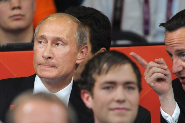 Путин на дзюдо в Лондоне: Фото
