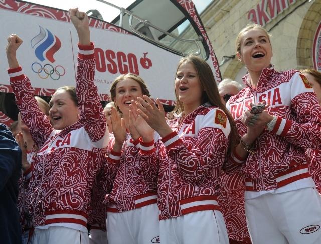 Синхронное плавание, сборная России: Фото