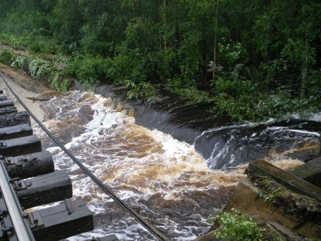 Наводнение в Карелии: Фото