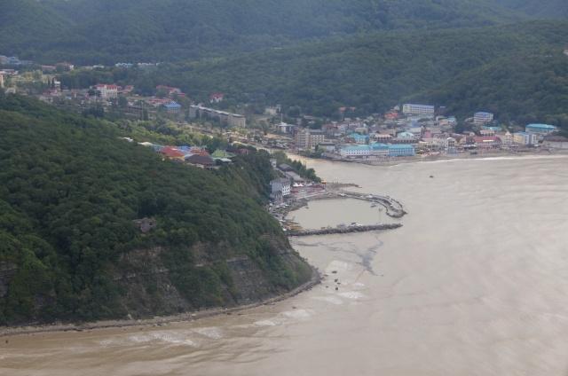 Наводнение в Новомихайловке: Фото