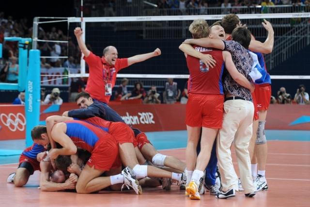 Волейбол Россия - Бразилия : Фото