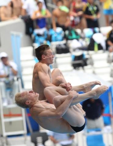 Прыгуны в воду Захаров и Кузнецов: Фото