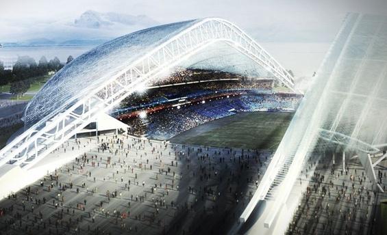 Центральный стадион Сочи - Олимпиада 2014: Фото