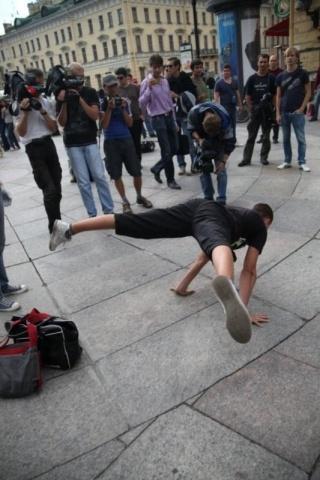 Забег на руках 2011: Фото