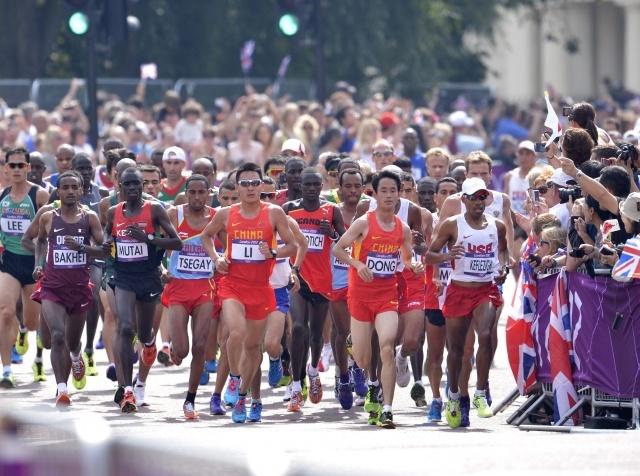 12 августа марафон Олимпиада 2012: Фото