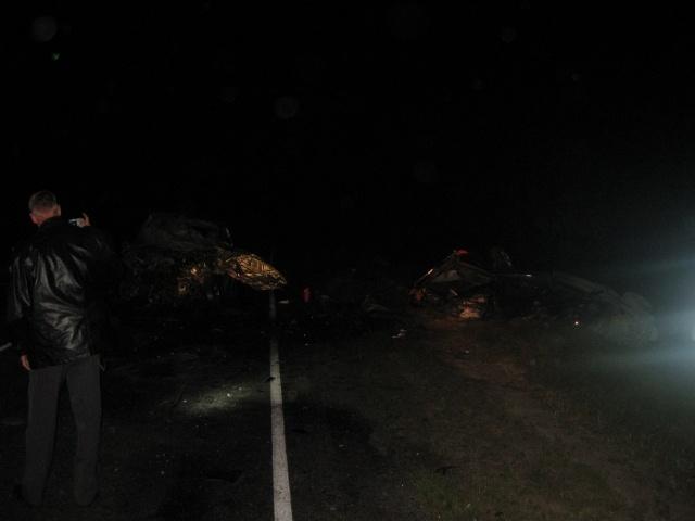 Авария под Вологдой: Фото