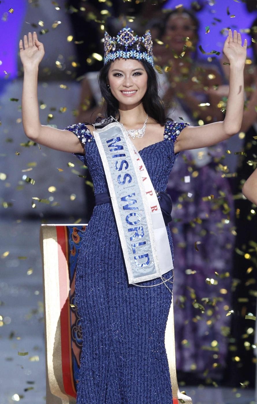 Foto kontestan miss world 2012