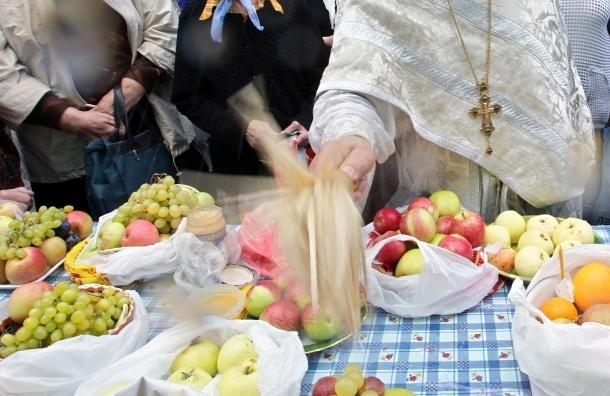 В Петербурге отмечают Яблочный Спас
