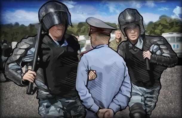 Какие разборки между полицейскими случаются в Петербурге
