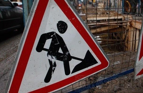 В двух районах Петербурга ограничат движение