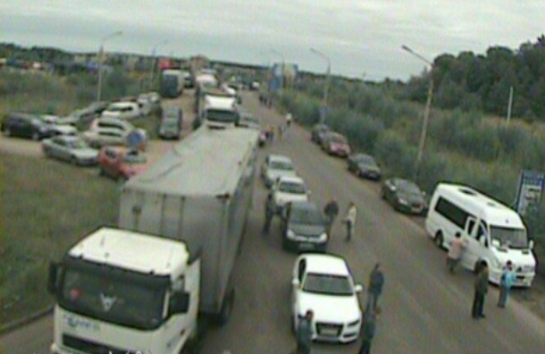 Российско-финскую границу перекрыли из-за нарушителя
