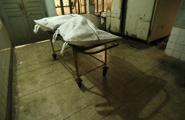 В Ленобласти трупы хранили на улице возле морга, завернув в одеяла