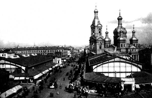 На Сенной площади раскопают то, что осталось от старинной Успенской церкви