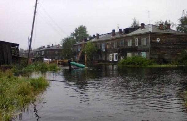 Наводнение в Карелии: последняя информация, кадры с места ЧП