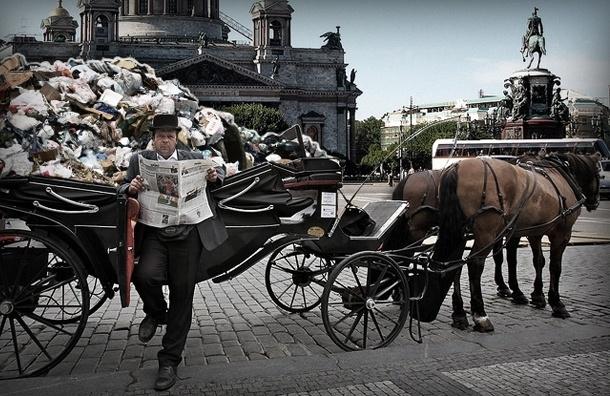 Мусорная колесница: как инновации помогут в уборке на пляжах Петербурга