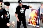 Возле храма Христа Спасителя сожгли Pussy Riot и «отправили Мадонну в ад»