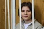 Екатерину Самуцевич из Pussy Riot поздравили с днем рождения салютом у СИЗО